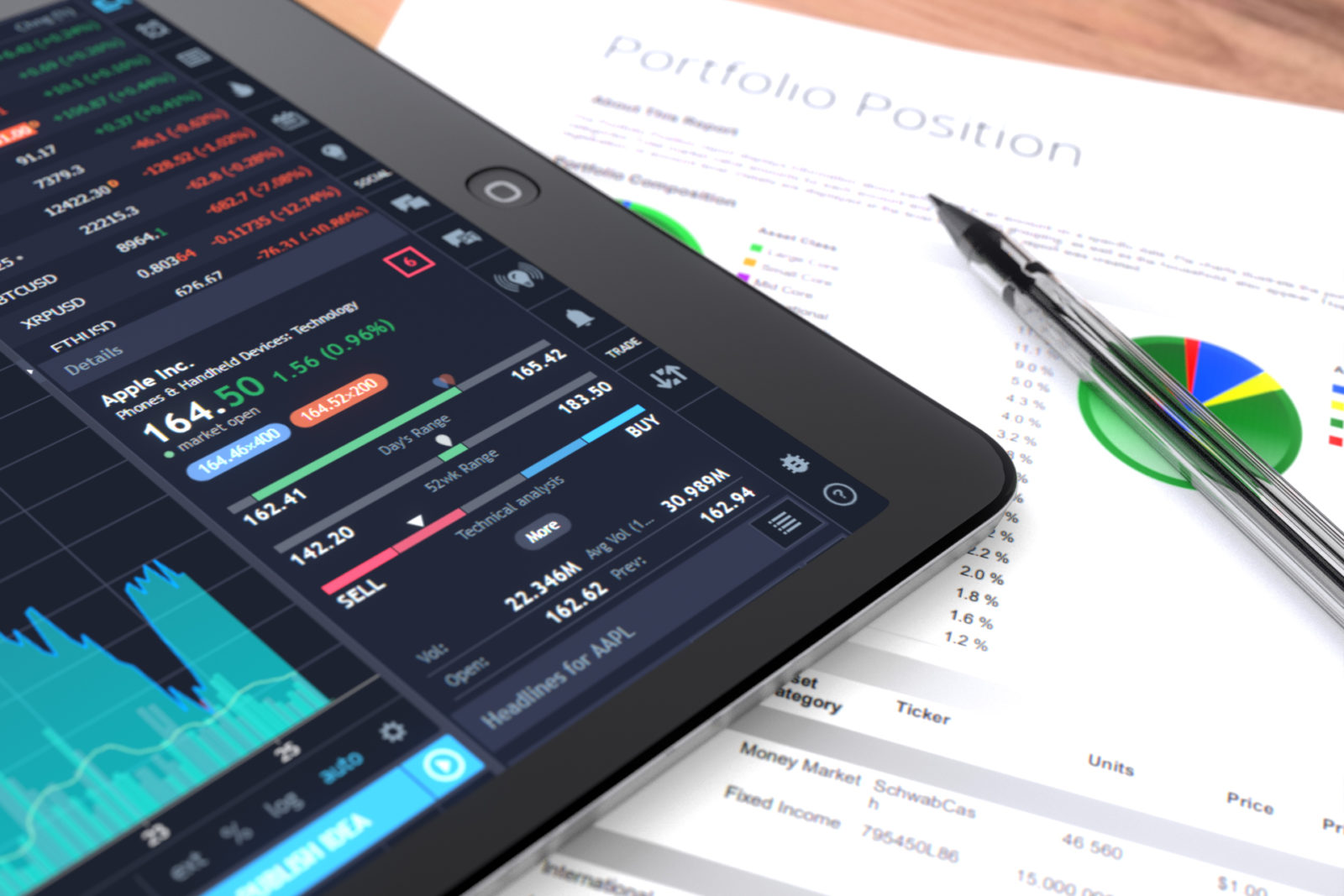 crypto blockchain stocks portfolio